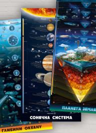 Комплект умных плакатов «Мир вокруг» (на украинском языке)
